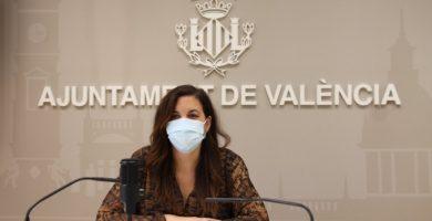 """Sandra Gómez: """"Tenemos dos proyectos importantes para hacer de València una ciudad más consolidada"""""""