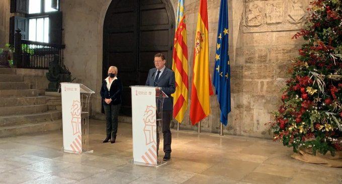 El tancament perimetral i el toc de queda es prorroguen fins al 15 de gener a la Comunitat Valenciana