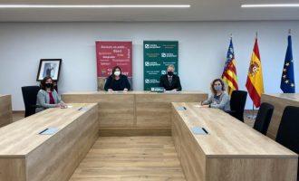 Alcàsser y Caixa Popular firman un convenio para facilitar a los emprendedores la financiación de nuevos proyectos
