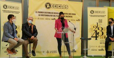 Mireia Mollà presenta 'Reciclos', un proyecto dirigido a incentivar la recogida de plásticos