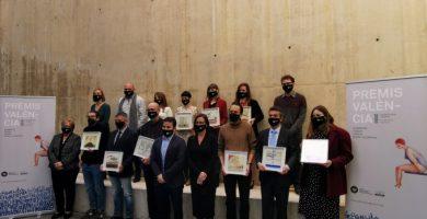 Se entregan las publicaciones ganadoras de los Premios València y València Nova 2020