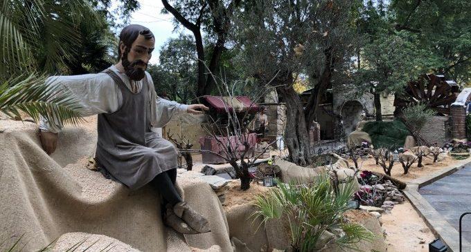 El Betlem Monumental de Xàtiva s'adapta a la pandèmia