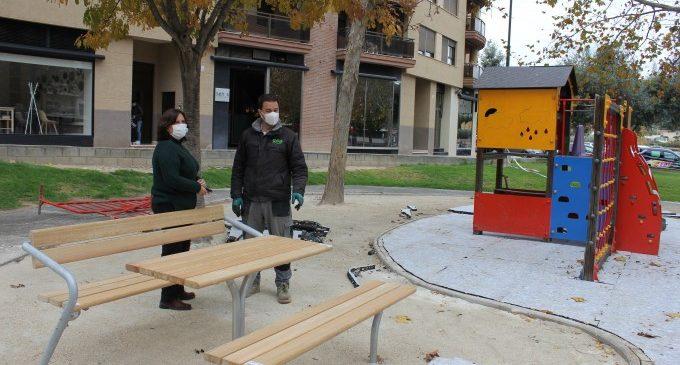 Ontinyent executa millores en sis parcs i zones verdes