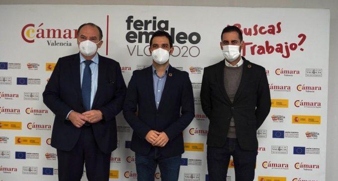 Nova edició de la Fira d'Ocupació de Cambra València a Paterna