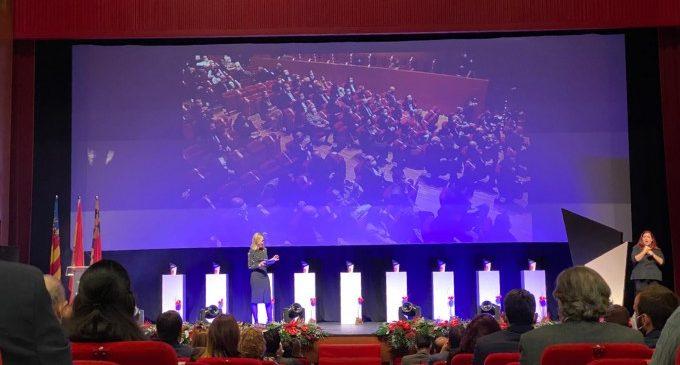 Paterna es convertix en l'epicentre de l'empresariat valencià durant la V edició de la gala de premis Paterna Ciutat d'Empreses