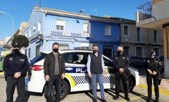 La Policía Local de Almussafes apuesta por una flota móvil sostenible