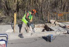 Xàtiva efectua millores en els accessos a la Séquia Murta al seu pas per l'Avinguda Barxeta