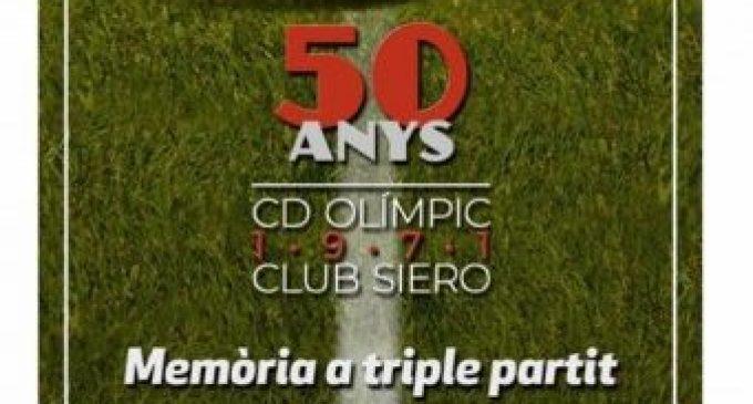 El Gran Teatre de Xàtiva acull l'acte de commemoració del 50 aniversari de l'eliminatòria entre el CD Olímpic i el Club Siero