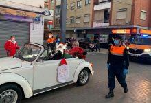 El Pare Noel recorre els carrers de Catarroja per a recollir els últims desitjos