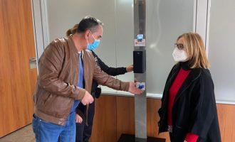 L'Ajuntament de Llíria instal·la sensors d'aforament i desinfecció en els edificis públics