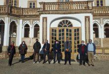 La direcció de Global Omnium visita el palauet de Nolla de Meliana