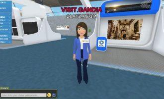 Gandia es promociona a la fira virtual VR-Spagna-2020 organitzada per Turespaña