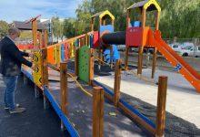 L'Ajuntament de Massamagrell amplia la zona infantil en el passeig Juan Celda