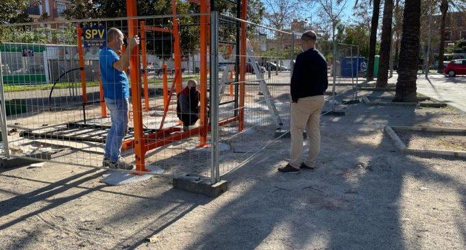 Massamagrell instal·la dos nous parcs de cal·listènia