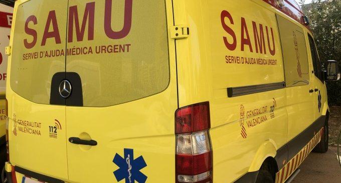 Un home resulta ferit després de ser atacat per diversos gossos a Pedralba