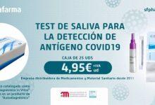 Una empresa valenciana distribuirà un nou test ràpid de saliva que detecta antigen en menys de 15 minuts