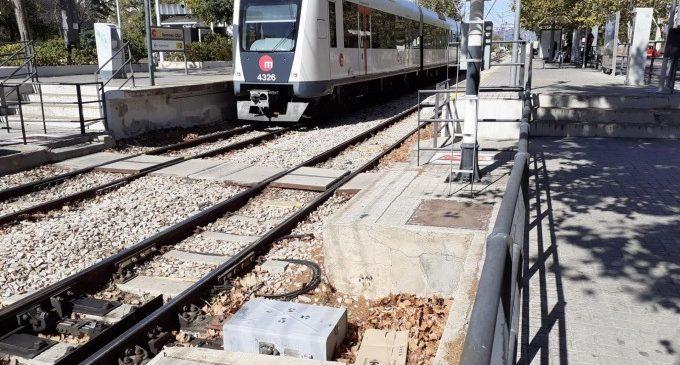 Atropellament mortal en les vies de Metrovalencia entre Paterna i Font del Gerro