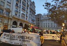 """Una protesta exige la regularización de las personas migrantes """"ante la necropolítica y el racismo institucional"""""""