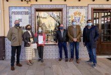 Entrega de premios de escaparates de Navidad de Gandia