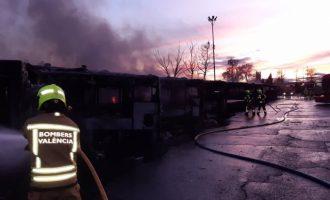 La Policia creu que l'incendi de l'EMT no va ser intencionat i apunta a un problema elèctric en un bus