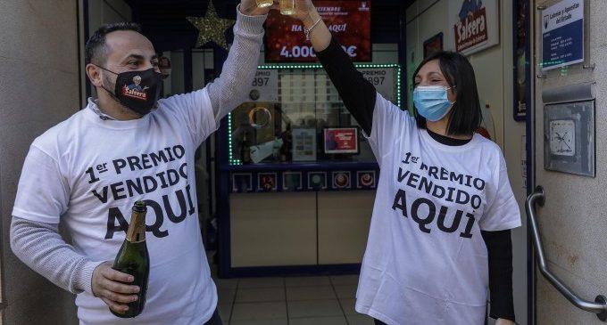 El sorteig de Nadal deixa uns 141 milions en la Comunitat Valenciana