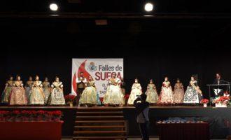 La Junta Local Fallera de Sueca celebra su acto tradicional de felicitación de las fiestas adaptado a las normas anti-Covid19