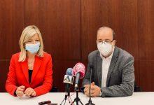 Bravo presenta el nou palau de Justícia d'Alzira que es preveu que estiga acabat a la fi de 2023 després d'una inversió de 15,6 milions