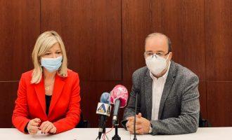 Bravo presenta el nuevo palacio de Justicia de Alzira que se prevé que esté terminado a finales de 2023