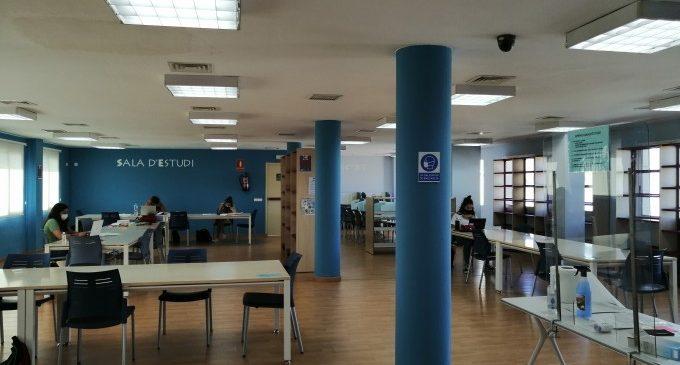 La Biblioteca d'Almussafes amplia el seu horari per a facilitar l'estudi durant la temporada d'exàmens