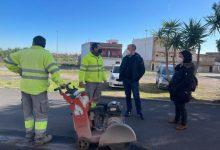 Massamagrell remodela les voreres del barri de la Magdalena amb una inversió de 48.000 euros