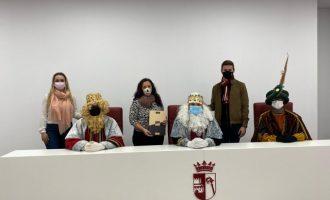 El comerç d'Almussafes col·labora amb els Reis Mags en la recollida de cartes