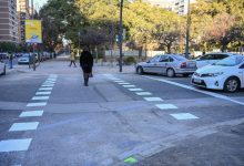 València crea cuatro nuevos pasos de peatones para completar el itinerario peatonal en la Alameda final de Blasco Ibáñez