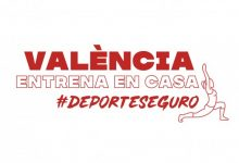 Vuelve una nueva edición de #ValènciaEntrenaEnCasa