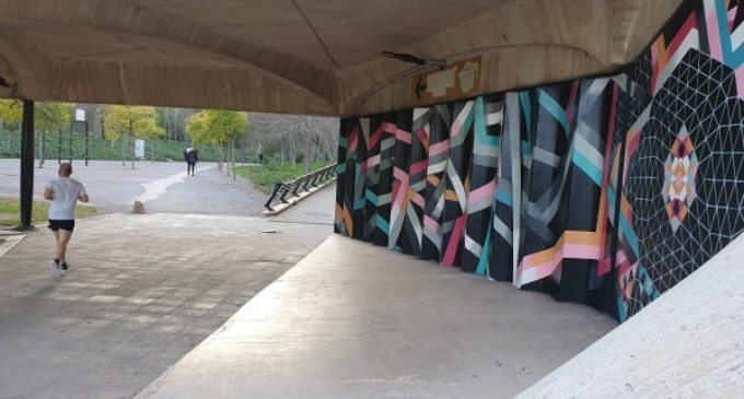 El Jardín del Túria se convertirá en un museo de arte urbano con la instalación de 11 murales a lo largo de todo el parque