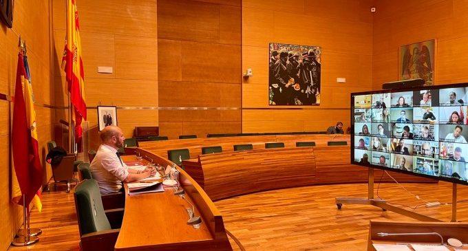 La Diputació demanarà la transferència dels trams de titularitat local per a millorar la seguretat de 'Quatre Camins' a La Vall d'Albaida