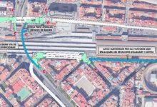 La futura estació d'Alacant es connectarà per a vianants amb les de Xàtiva i Bailén per a integrar la Línia 10 en la xarxa de Metrovalencia