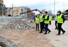 """Ximo Puig destaca que les obres de soterrament de les vies a Burjassot permetran l'inici d'""""una nova etapa per a la ciutat"""""""