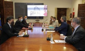 Puig se cita amb la restauració per a desglossar els 380 milions del Pla Resisteix