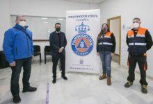 Gandia agraeix la tasca de Protecció Civil durant la pandèmia