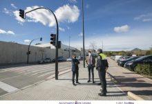 Gandia instala nuevos semáforos en la Avenida Blasco Ibáñez