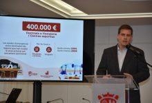 Las ayudas para los negocios de Xàtiva afectados por la pandemia superarán los 1,2 millones de euros