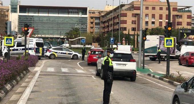 Torrent desplega un dispositiu policial especial per a garantir el confinament perimetral de la ciutat