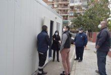 Burjassot habilita una nova cabina prefabricada per a les proves de COVID-19