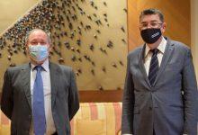 El President Morera i el Director de l'Agència Antifrau analitzen els avanços contra la corrupció i la recuperació del crèdit reputacional de les institucions valencianes