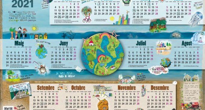 Quaranta-set escoles participen en la setena edició del Calendari Ambiental de la Diputació