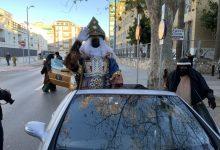 La cavalcada dels Reis d'Orient de Xàtiva va comptar amb escorta policial