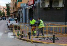 Torrent avança amb les obres millora del carrer Federico Maicas