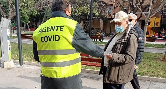 La Policía Local de Mislata impone 118 multas en la última semana por incumplimiento de las normas sanitarias