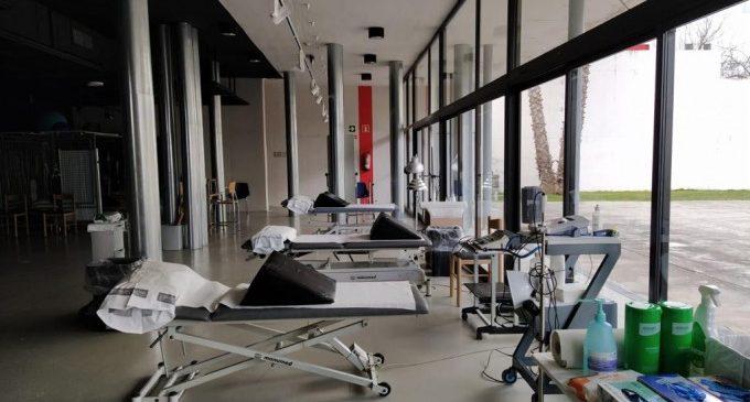 La Sala Gomis rep els primers pacients del servei de rehabilitació de l'Hospital d'Ontinyent
