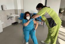 Usuaris i treballadors de la Residència per a Persones amb Discapacitat de Sueca reben la vacuna contra la Covid-19